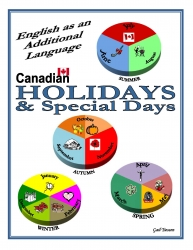 Canadian Holidays & Special Days USB