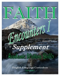 Faith Encounters I Supplement: Academic Writing Skills USB