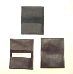 Topical Memory System: Leather Verse Card Holder